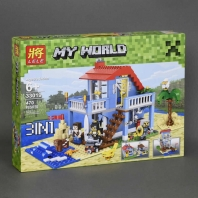 Конструктор 3 d 1 My World 470 дет. 33019