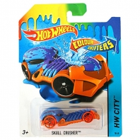 Машинка Hot Wheels Color Shifters Skull Crusher Измени цвет Mattel CFM41